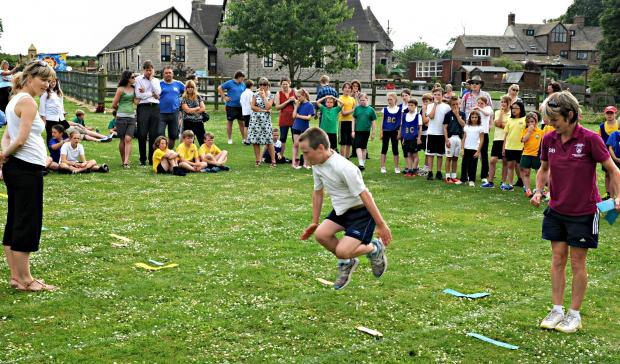 Philip Gunton,11, of Kingswood Primary School taking part in the Wotton and District Primary Schools Athletics Events in North Nibley (7509495)