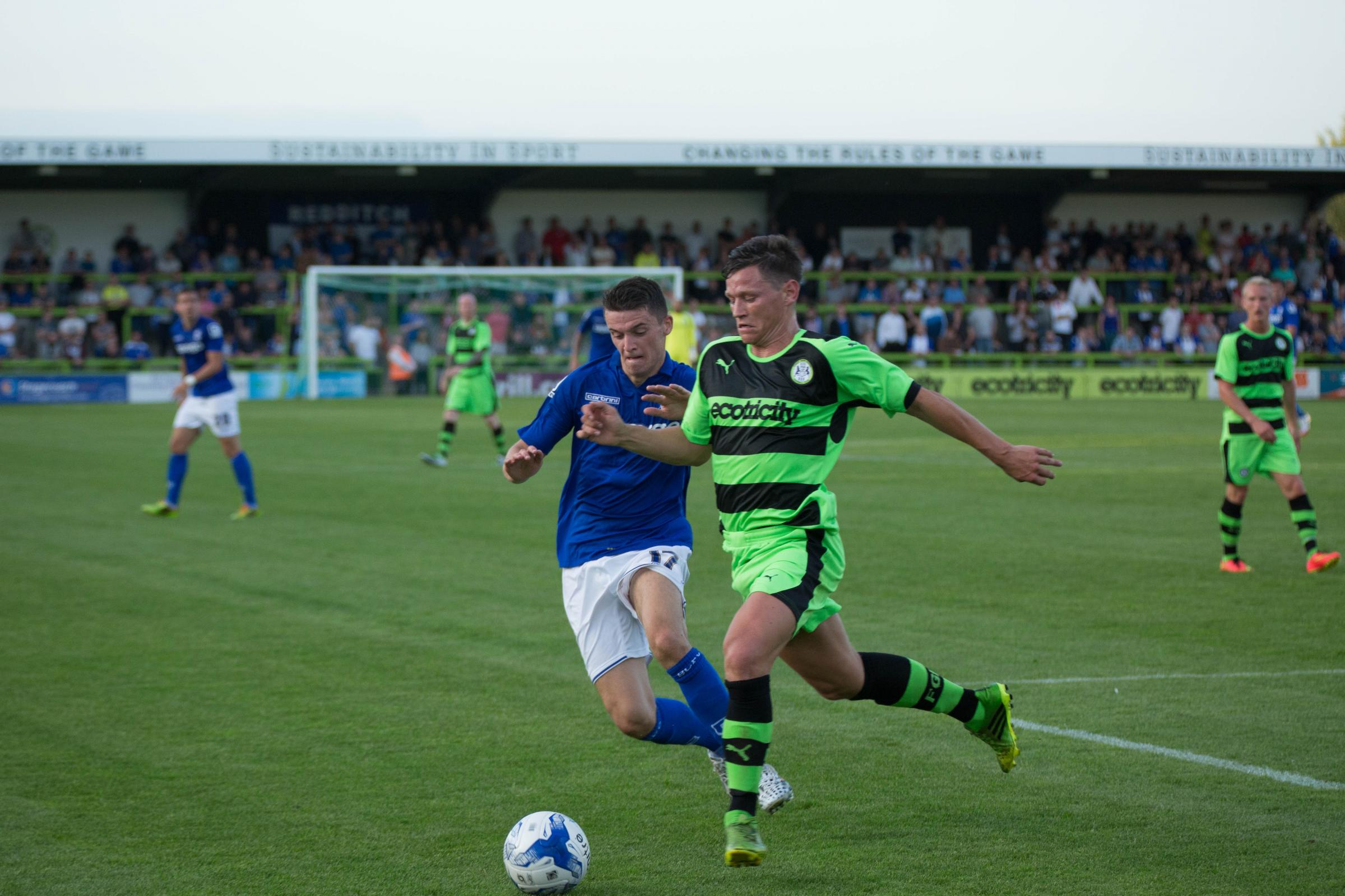 Football: Promising signs for Forest Green in excellent test against Birmingham