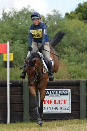 Zara Phillips in Dauntsey Park. Picture: Phil J Photography