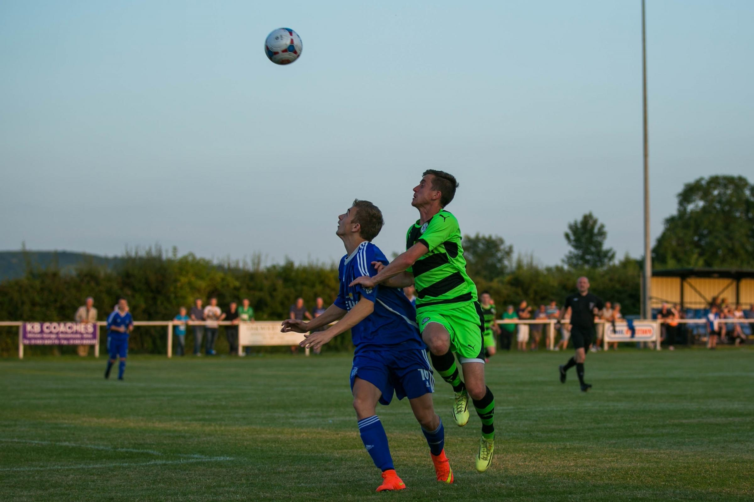 Football: Slimbridge do themselves proud against Forest Green