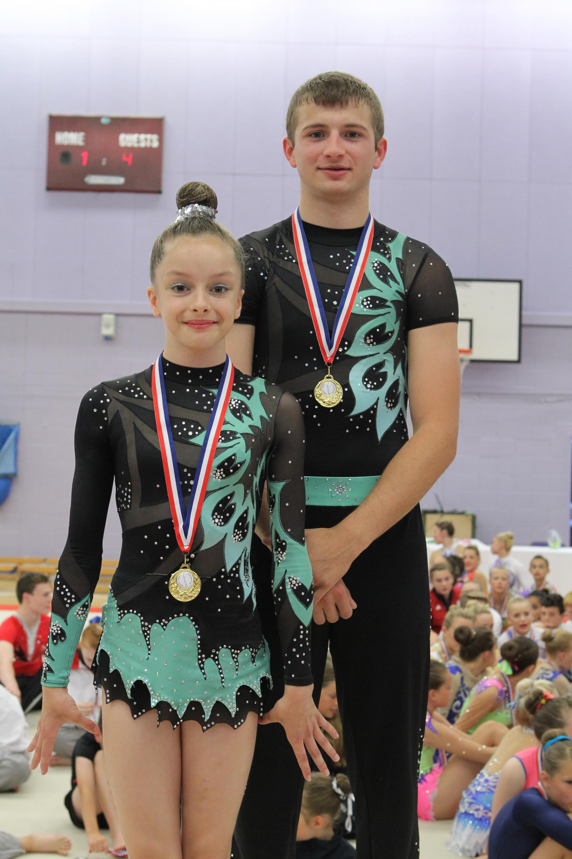 Gymnastics: Katie and James strike gold again