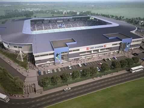 How South Gloucestershire's first stadium will look