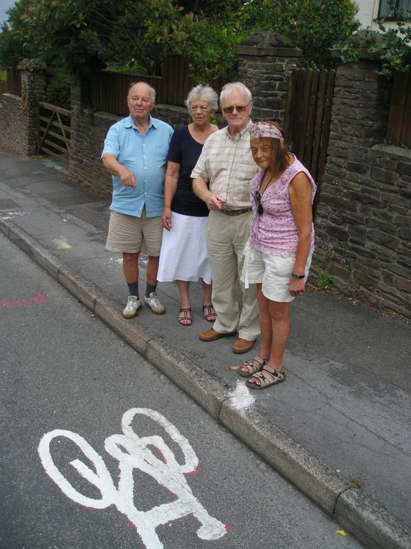 Frampton Cotterell residents left fuming by 'dangerous' new cycle path