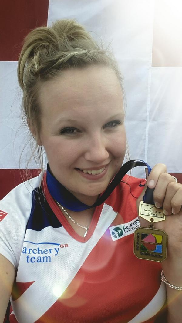 Archery: European medal and world record keeps Chloe on target for Rio 2016