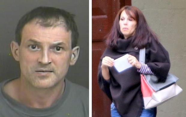 Left, Narcis Loo, 44, jailed for threatening to kill wife Veronica, right before kicking both her and their 20-year-old son Paul.