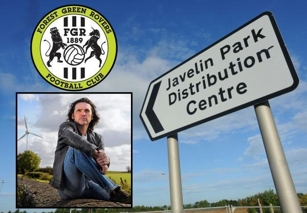 Javelin Park could be the new home of Forest Green Rovers, says club chairman Dale Vince. Pic: Tom Wren