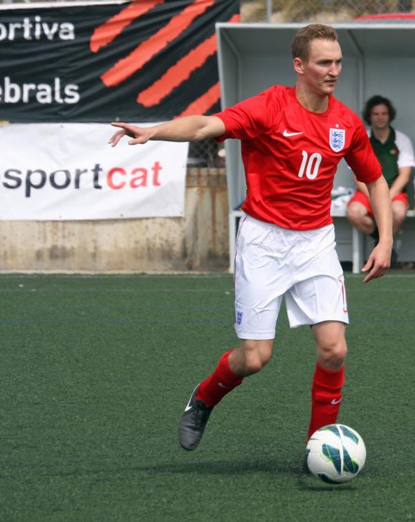 Football: Rio 2016 is goal for Kingswood ace
