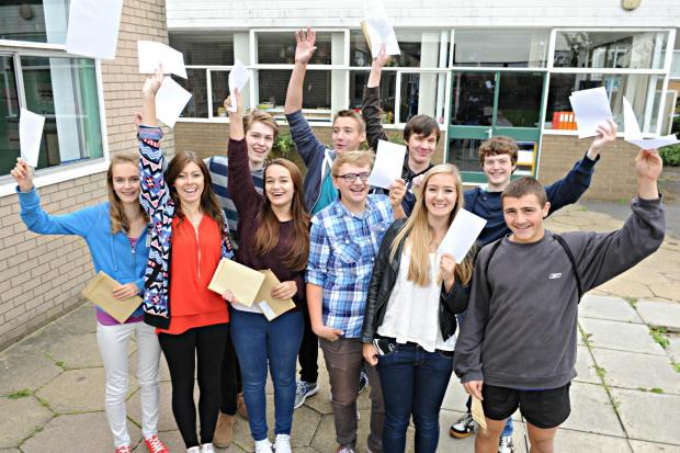Marlwood students celebrate a record-breaking year for GCSE results