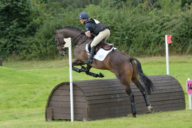 Daisy Berkeley on Ballinteskin Copper at Melksham. Picture by Phil J Photography