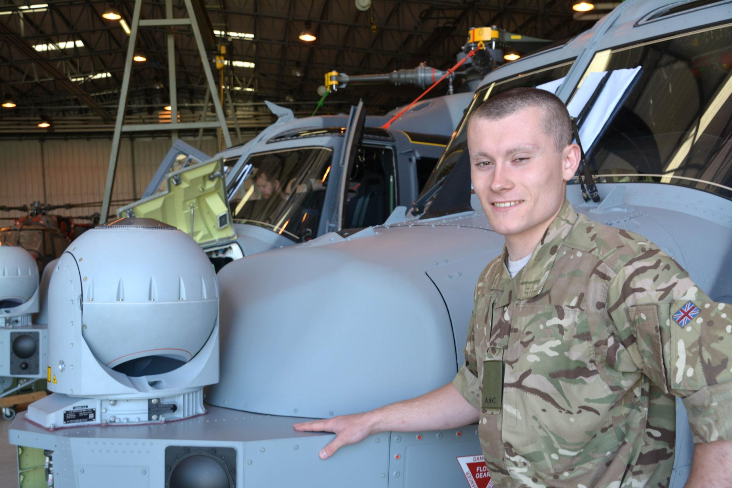 Dursley army reservist thrilled with new air trooper role
