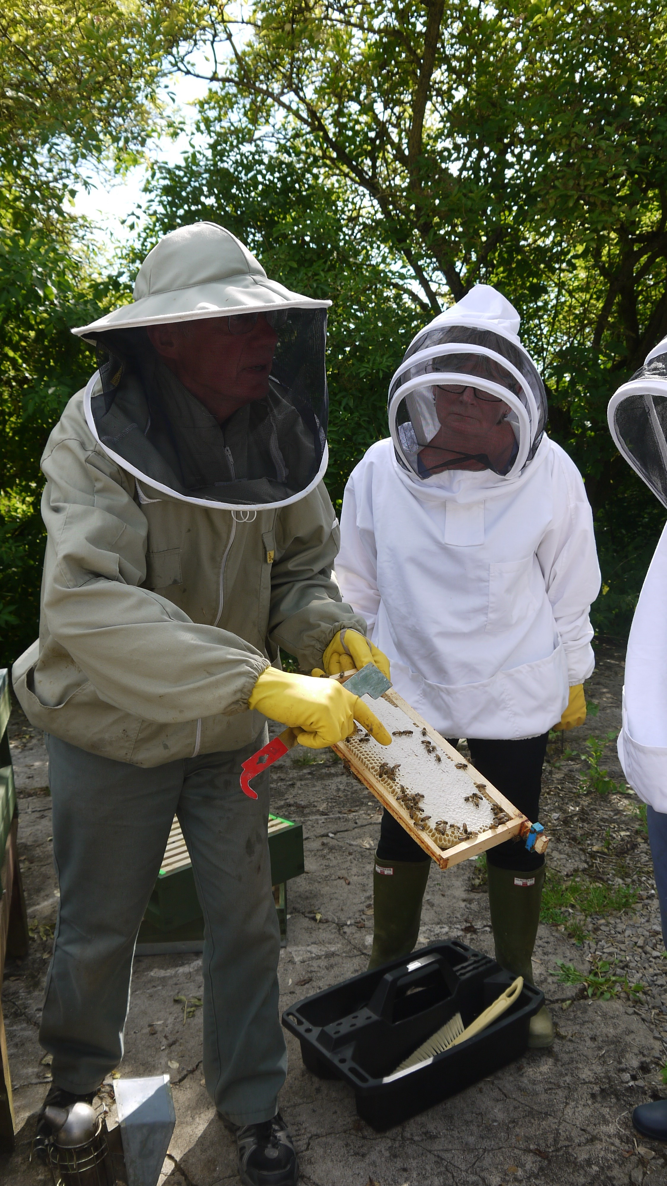 Bee keepers keeping safe after new suits donated