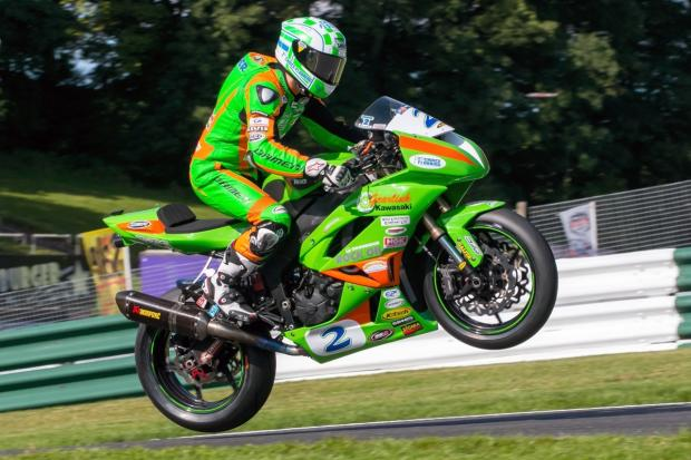 Luke Hedger in action in the previous round at Cadwell Park. Picture: Johny Wills Photography
