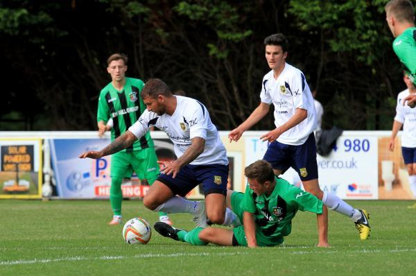 Lewis Haldane is staying at Yate Town
