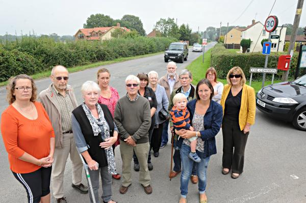 Berkeley residents calling for completion of bypass from A38 to Berkeley