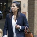 Gazette Series: Julie Wong leaves Southwark Crown Court in London after giving evidence at the court case of Kuntal Patel who denies trying to murder her mother and acquiring a biological agent or toxin.