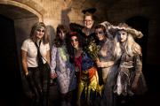 Hallowe'en revellers at Woodchester Mansion (11445467)