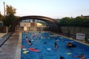 An evening session at Wotton Swimming Pool