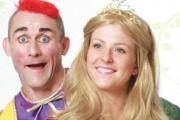 Tweedy the clown stars in the Cheltenham pantomime this winter