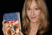 Author JK Rowling with one of her popular children's novels (17089787)