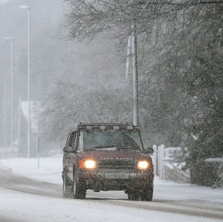 TODAY'S WEATHER: Warning as sleet and snow showers possible for region