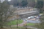 The £3.8 million restoration project underway at Dyrham Park Picture by Clive Rushton