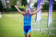 Colliers International head of Bristol office Tim Davies crossing the finish line (30197059)