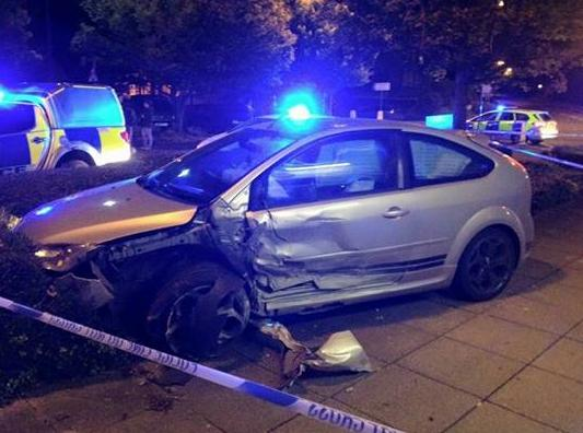 Car Ploughs Into Front Of Pizza Planet In Cam Gazette Series