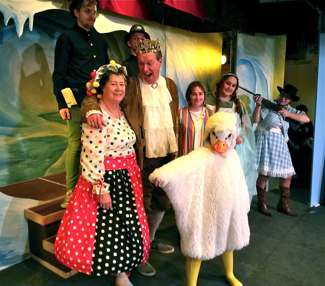 Mother Goose, performed by the Village Players in Pilning