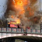 Gazette Series: Londoners aren't too happy about the bus explosion staged for a Jackie Chan film