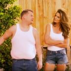 Gazette Series: Video: Cindy Crawford and James Corden have hilariously remade a famous advert