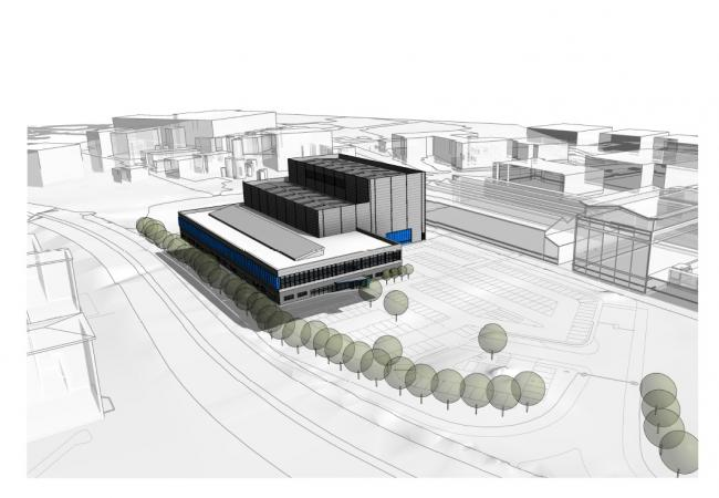 A concept image of the new Wing Integration Centre which has been granted planning permission