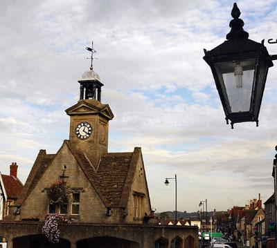 Chipping Sodbury  town clock
