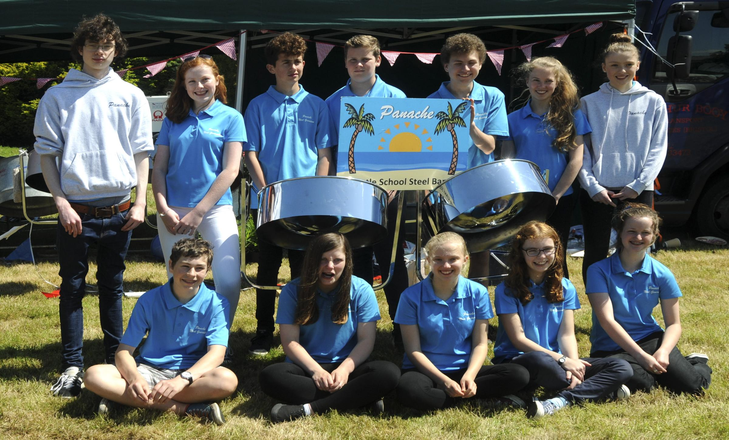 Thornbury steel band all set for Brittany tour