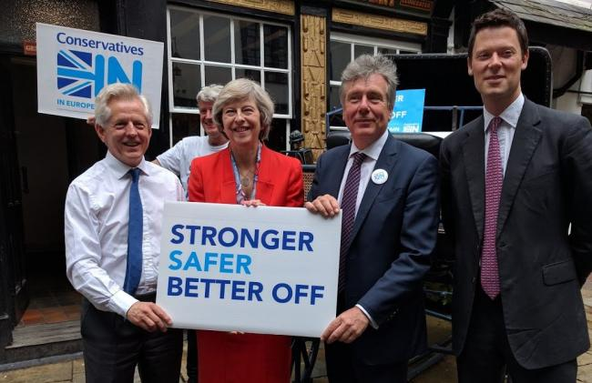Image result for theresa may remain