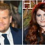Gazette Series: James Corden joins Meghan Trainor on stage for a duet in LA