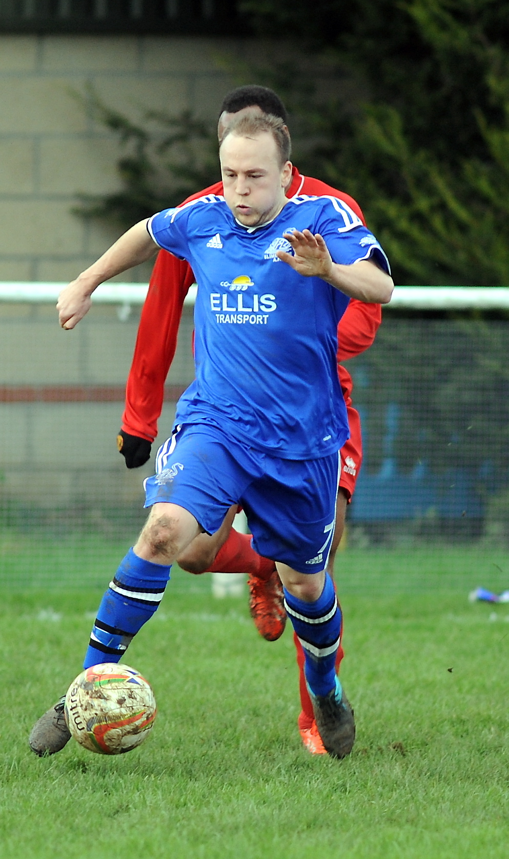 Slimbridge's Sean Lawson scored twice against Shortwood