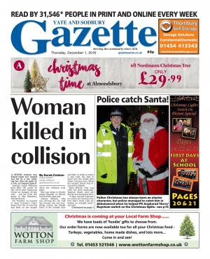 Gazette Series: This week's Yate edition front page