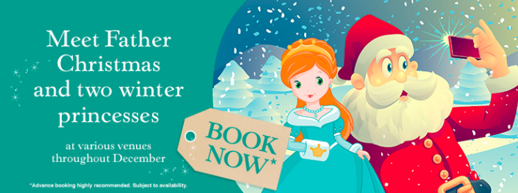 Meet Father Christmas and the Winter Princesses