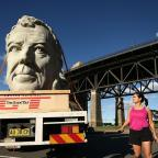 Gazette Series: Jeremy Clarkson's giant, grey head has been doing the rounds in Sydney