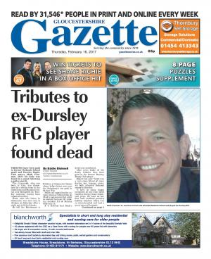 Gazette Series: This week's Gloucestershire edition front page
