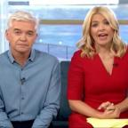 Gazette Series: Holly Willoughby apologises after Joey Essex swears on This Morning