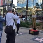 Gazette Series: Gold statue of Kanye West as Jesus unveiled by British artist in Hollywood