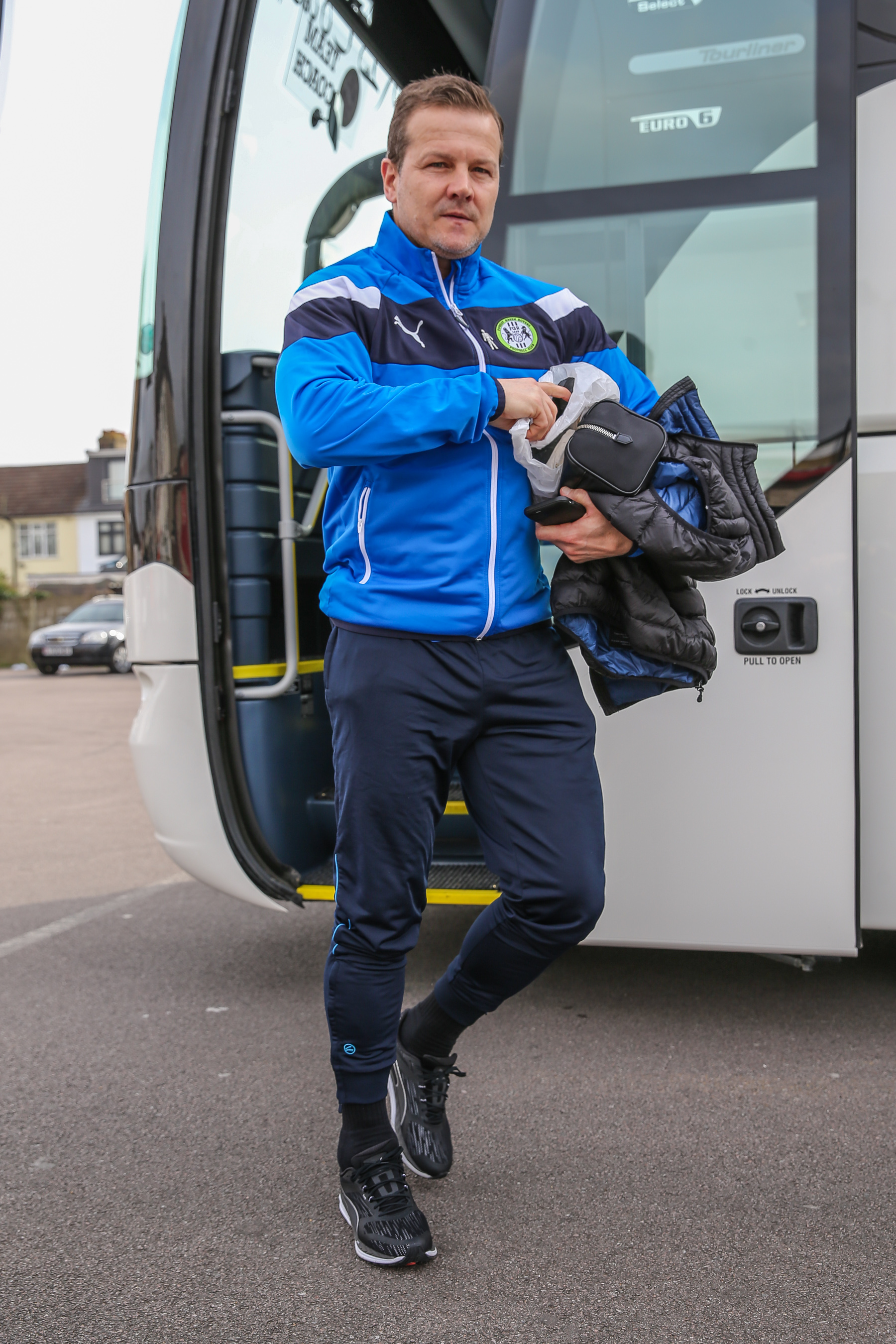 ON THE ROAD: Mark Cooper takes his team to Newport on Saturday           Pic: Shane Healey/ Pro Sports Images
