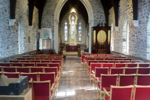 Parishioners delighted with results after Pilning church undergoes ten-week refurbishment
