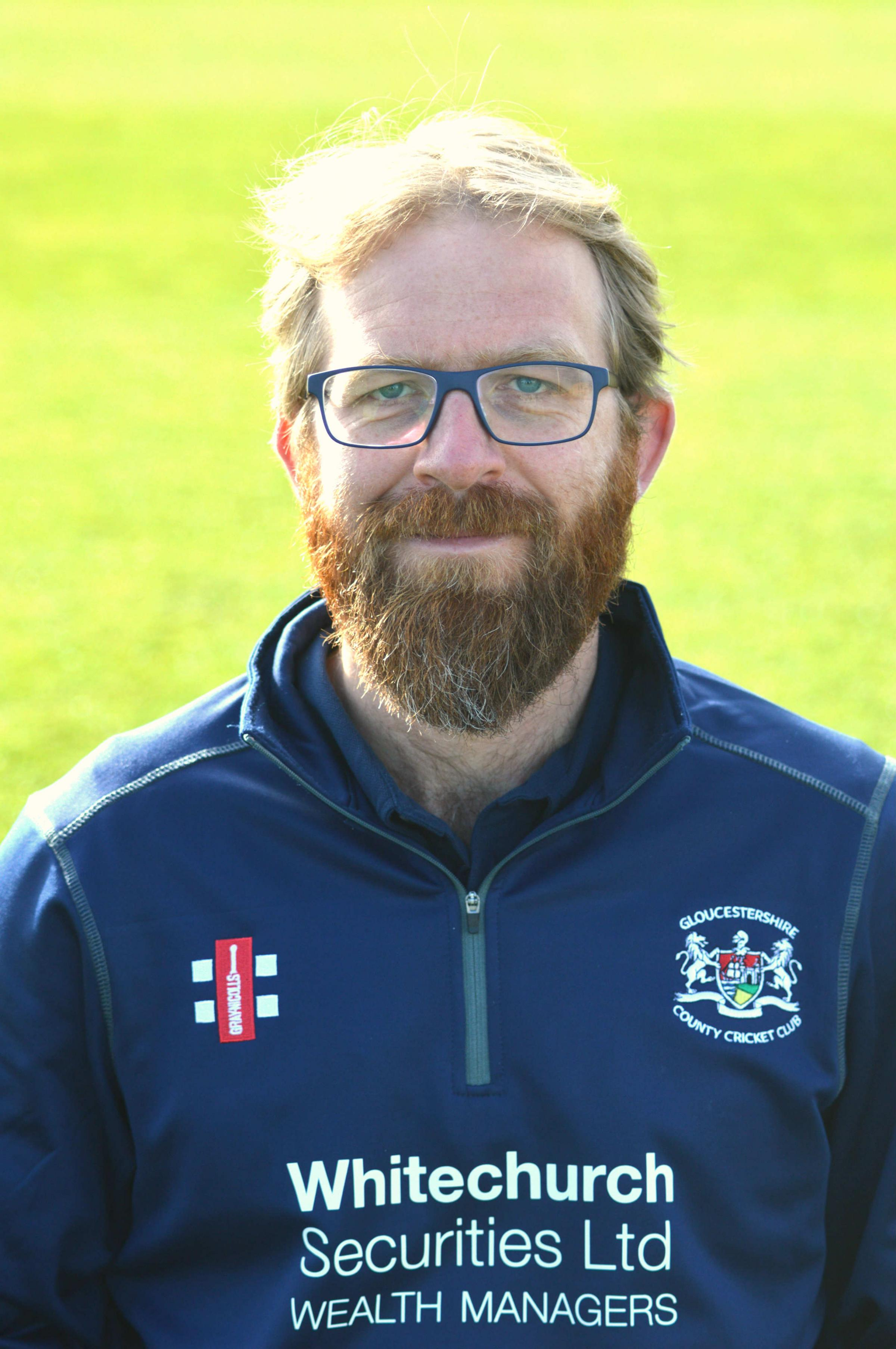 Gloucestershire's head coach Richard Dawson