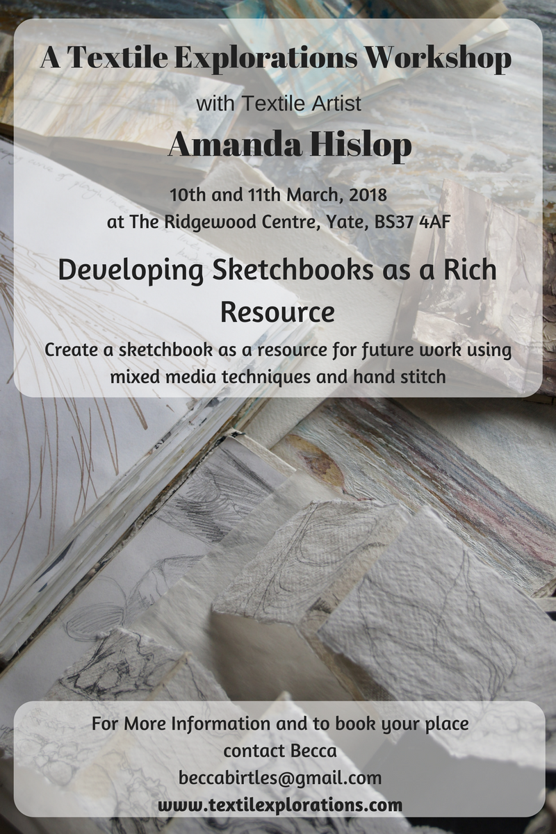 Amanda Hislop - Developing Sketchbooks as a Rich Resource