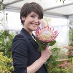 Gazette Series: Gemma Arterton visits Chelsea Flower Show to prepare for new film role