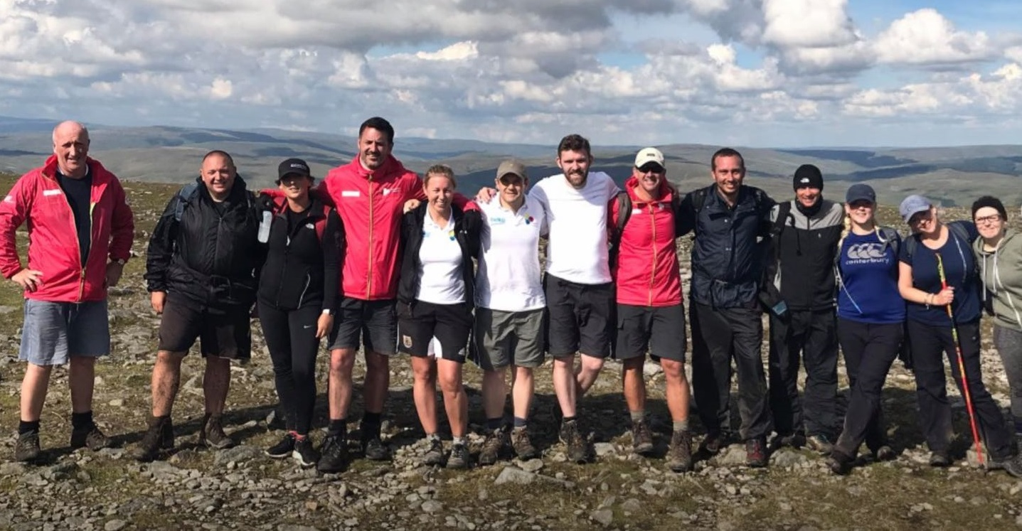 Team from South Gloucestershire and Bristol tackle Three Peaks Challenge to raise £8,000 for charity