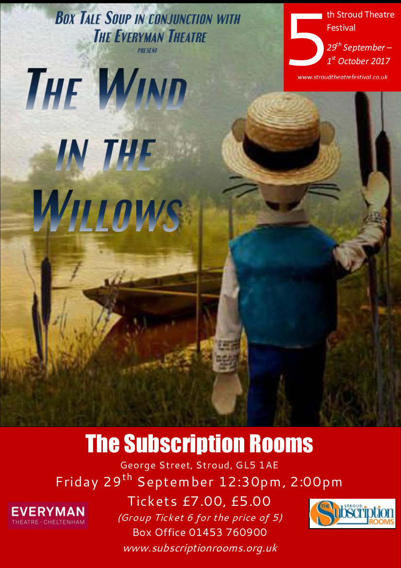 Box Tale Soup and the Everyman present Wind in the Willows