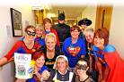 Medical Day Care Team  Southmead Hospital taking part in Hero for a Day in 2015.